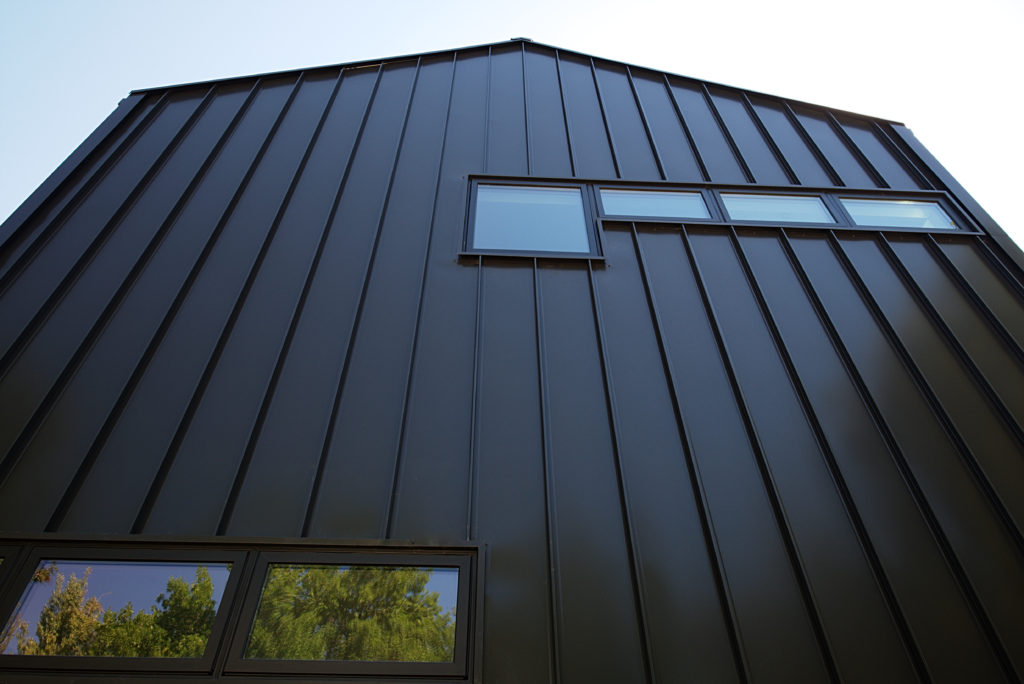 Vertical metal siding for Vertical steel siding